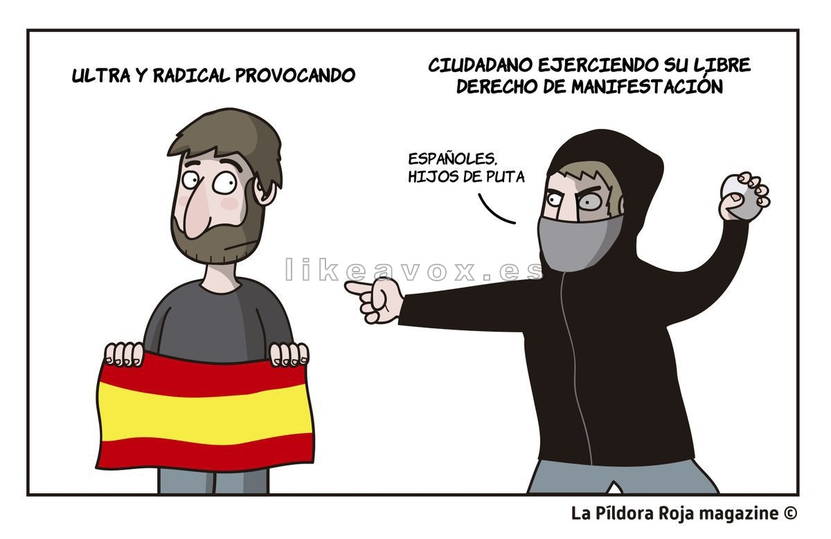 Españoles vs Indepes Catalufos