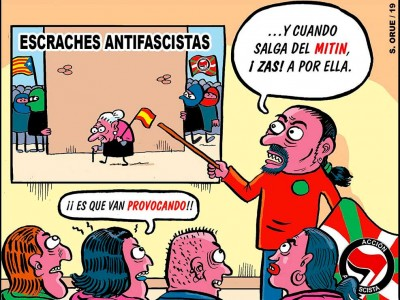 Escraches antifascistas
